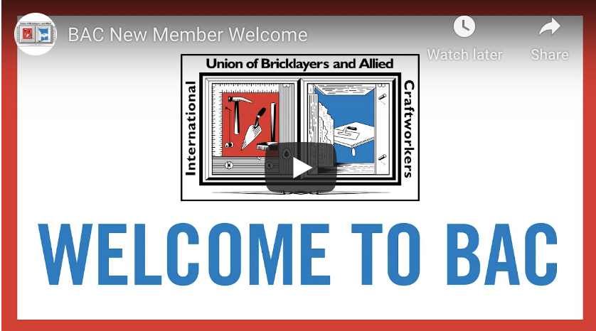 President Driscoll's Welcome Message to New Members